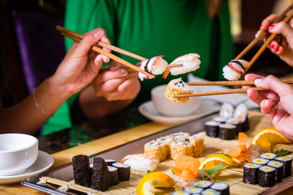Eating Sushi: Why you Must Do it More